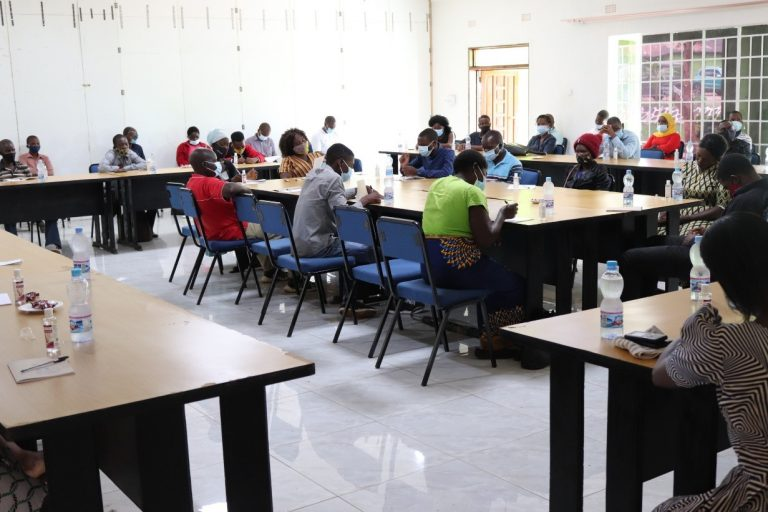COVID-19 Orientations with Community leaders in Zomba